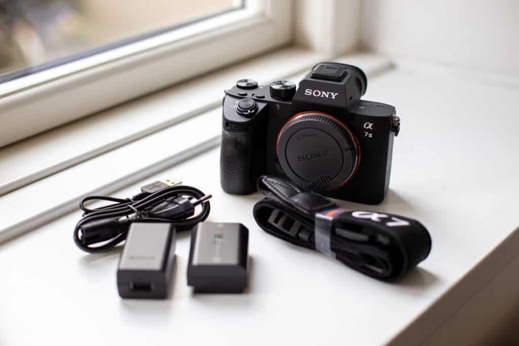 Sony camera en onderdelen