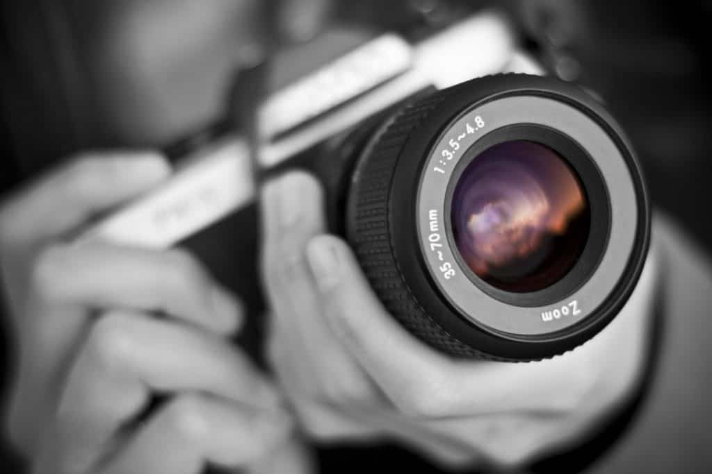 Camera lens objectief