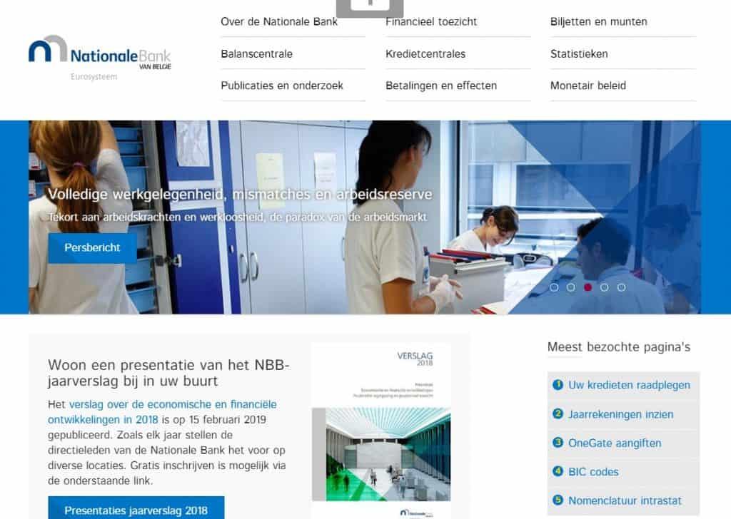 Nationale Bank Belgie