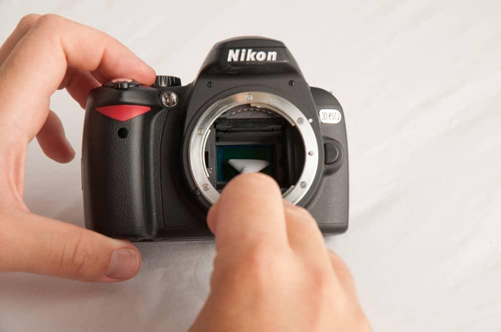 Nikon sensor reiniging schoonmaken