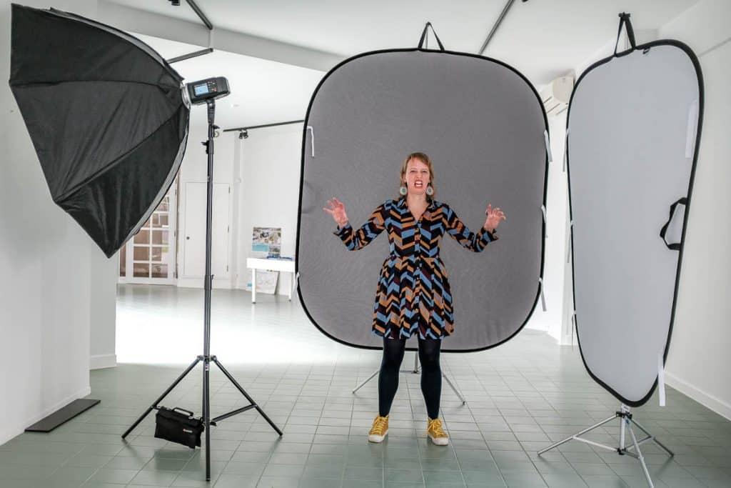 Studiofotografie basis essentie Kattoo Hillewaere