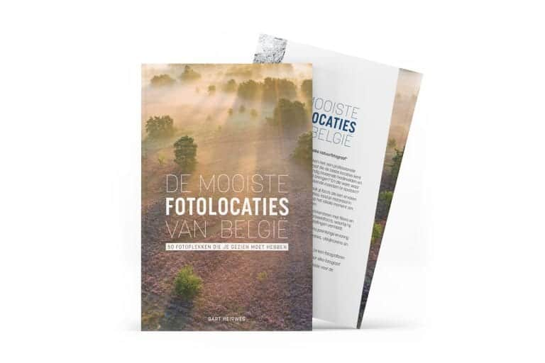 Nieuw boek van Bart Heirweg brengt je naar de mooiste fotolocaties van België