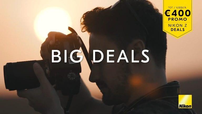 Profiteer nu van hoge kortingen op Nikon Z-producten!