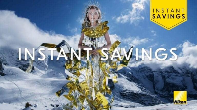 Ontvang nu tot 400 euro korting op Nikon-producten