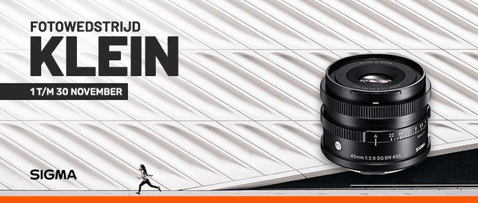 """Fotowedstrijd """"Klein"""": maak kans op een gratis Sigma 45mm objectief"""