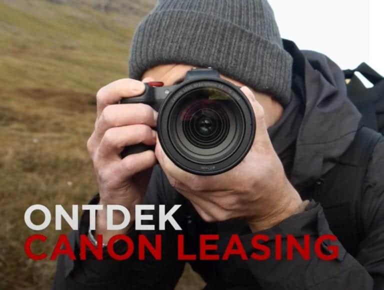 Canon leasing: maak je kit compleet met de nieuwste R5 of R6 en betaal pas na 6 maanden!