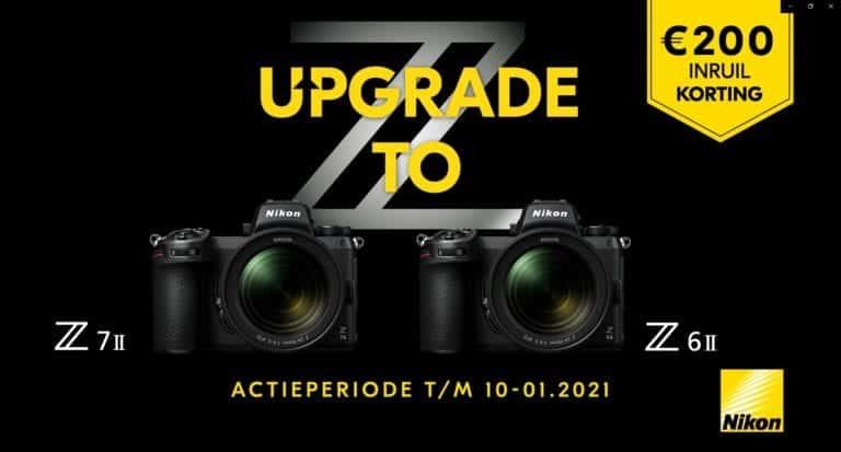 Profiteer nu van 200 euro extra inruilkorting bij een Nikon Z6 II en Z7 II!