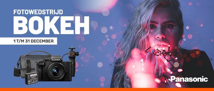 "Fotowedstrijd ""Bokeh"": maak kans op een gratis Panasonic Lumix DC-G100 vlogkit"