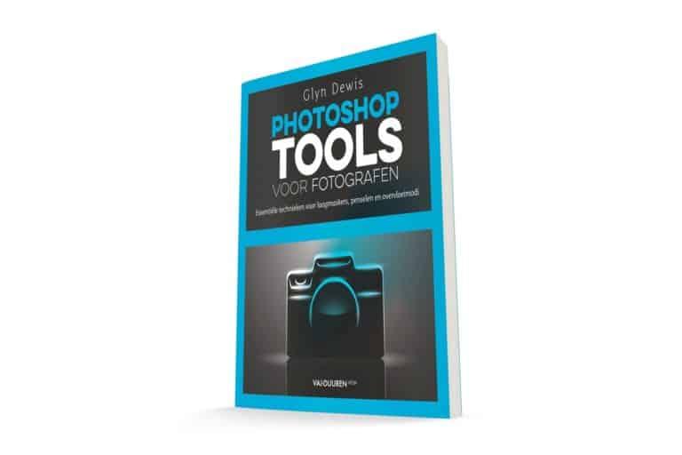 Nu 5 euro korting op boek Photoshop tools voor fotografen!
