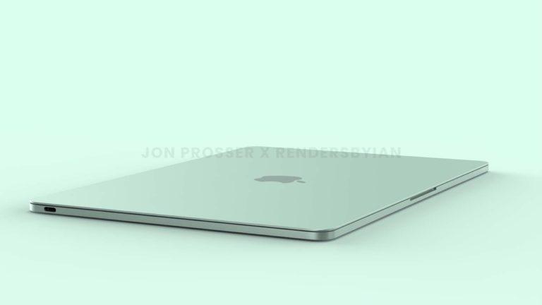 Is dit de nieuwe MacBook Air 2021?