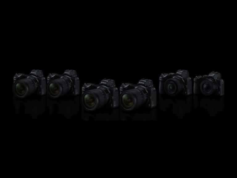 Nikon updatet al zijn Z-serie systeemcamera's