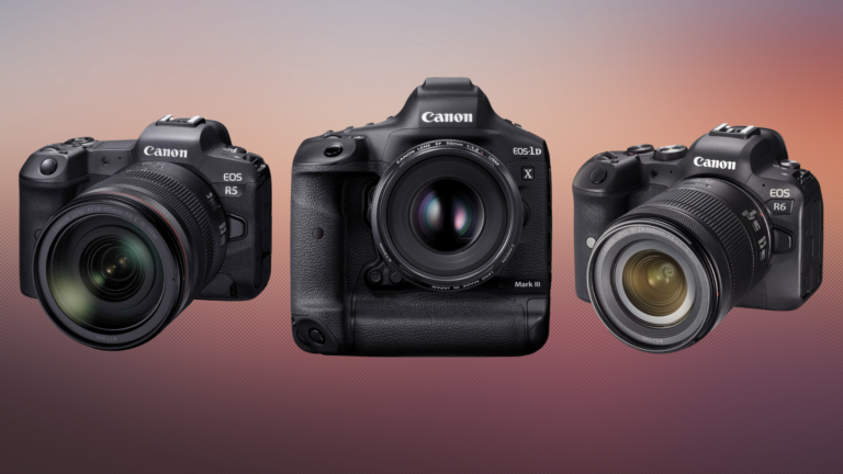 Canon maakt EOS R6, R5 en 1D X Mark III nog interessanter voor filmers