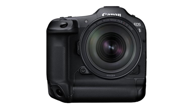 Canon EOS R3 is nieuwe professionele krachtpatser met 30 fps en slimme AF-functies