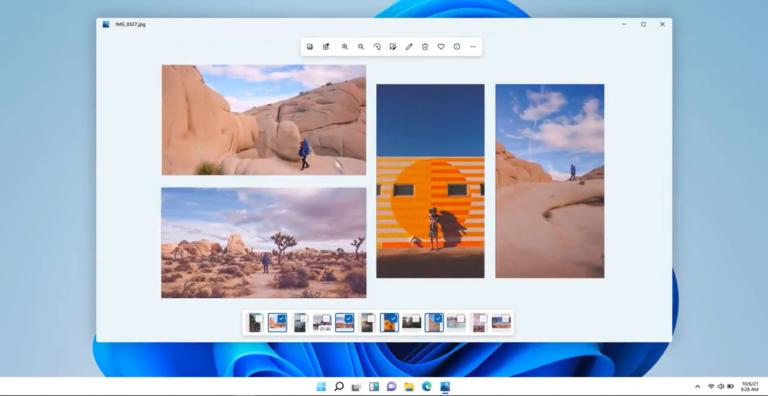 Microsoft stelt nieuwe Foto's app in Windows 11 voor