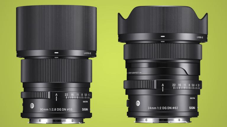 Sigma breidt I-serie uit met een 90mm-midtele en een 24mm-groothoek