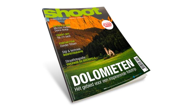Shoot 90 ligt nu in de winkels: Bosfotografie en de Dolomieten