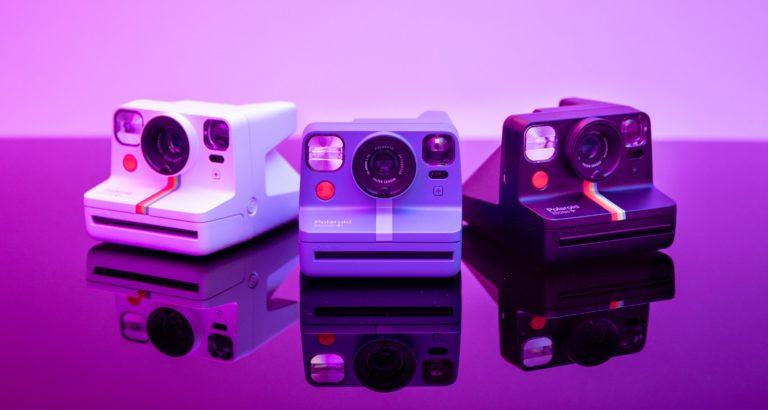 Creatieve Polaroid Now+ is direct-klaar camera met 5 lensfilters