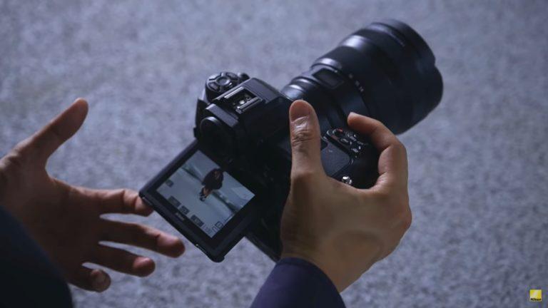 Video: Nikon Z9 krijgt scherm dat in twee richtingen kan kantelen